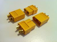 XT60-Stecker Goldkontakt 2 Paar