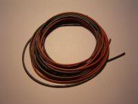 0,75mm² hochflexibles Kabelset rot+schwarz