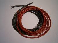 2,5mm² hochflexibles Kabelset rot+schwarz
