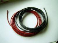 1,0mm² hochflexibles Kabelset rot+schwarz